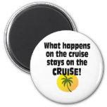 Cruise 6 Cm Round Magnet