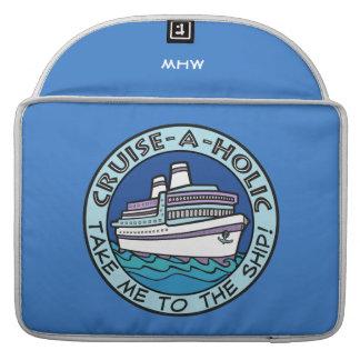 Cruise-A-Holic custom monogram MacBook sleeves Sleeve For MacBook Pro
