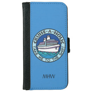 Cruise-A-Holic custom monogram phone wallets