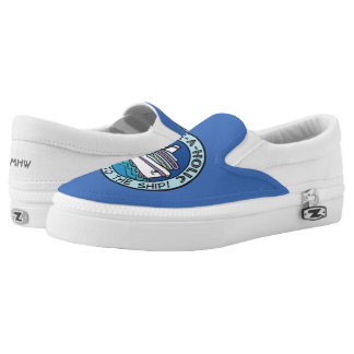 Cruise-A-Holic custom monogram shoes Printed Shoes