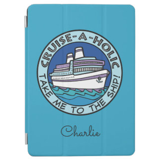 Cruise-A-Holic custom name device covers iPad Air Cover