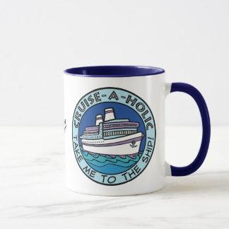 Cruise-A-Holic custom name mugs