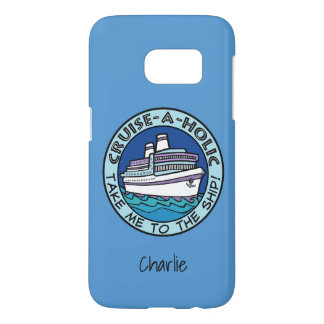 Cruise-A-Holic custom name phone cases