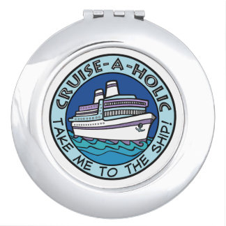 Cruise-A-Holic pocket mirror