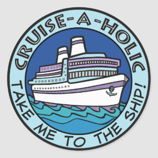 Cruise-A-Holic stickers