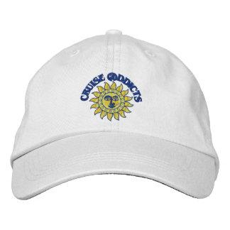 Cruise Addicts White Ball Cap
