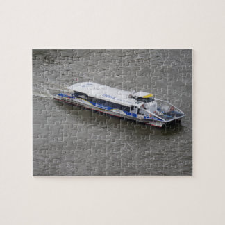 Cruise Boat on Thames Jigsaw Puzzle