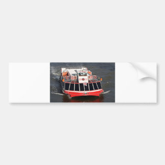 Cruise boat, Thames River, London Bumper Sticker