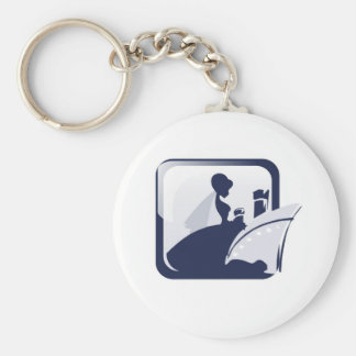 Cruise Bride Key Chain