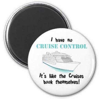 Cruise Control 6 Cm Round Magnet