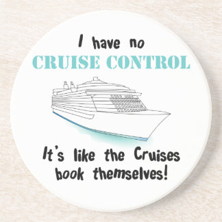 Cruise Control Drink Coasters