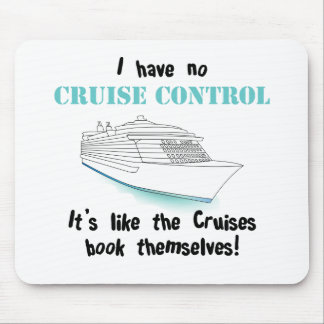 Cruise Control Mouse Mat