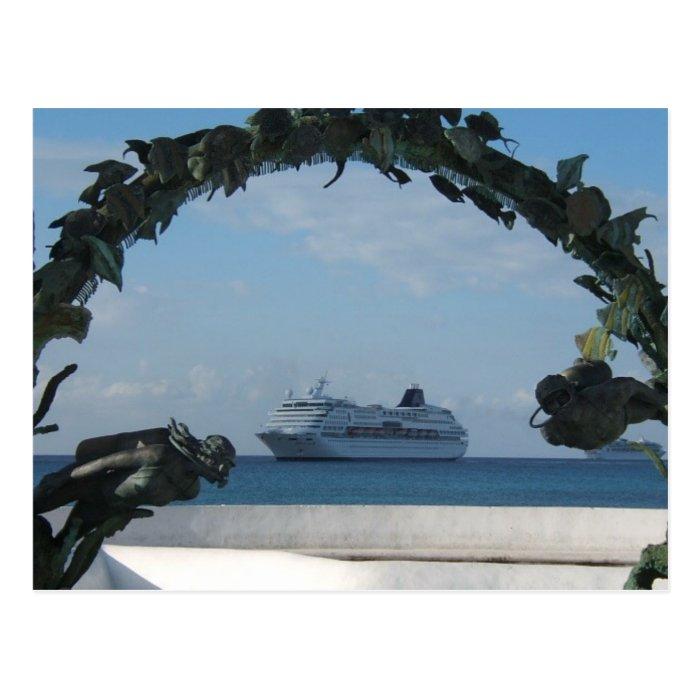 Cruise Cozumel MEXICO Postcard