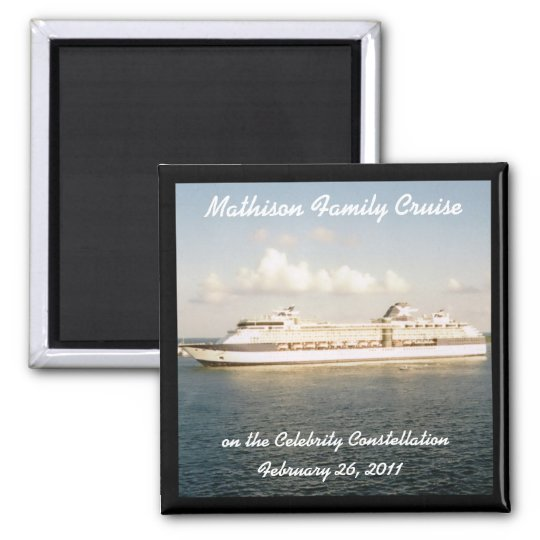 Cruise Custom Magnet - X Ship
