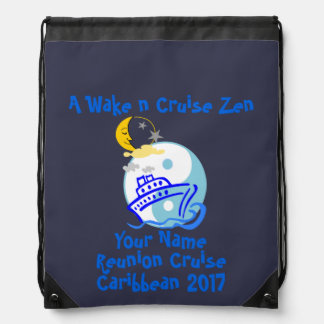 Cruise Drawstring Backpack Navy - Cruise Zen