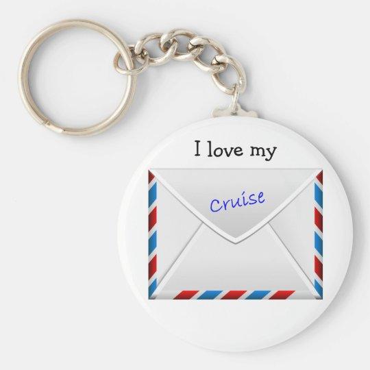 Cruise Envelope Key Ring