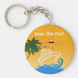 Cruise Keychain - Basic Round