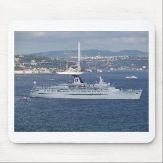 Cruise Liner Ocean Monarch Mouse Pad
