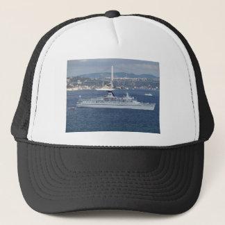 Cruise Liner Ocean Monarch Trucker Hat