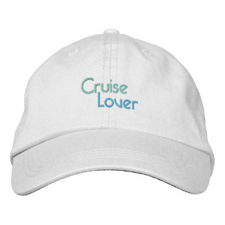 CRUISE LOVER cap Embroidered Hat
