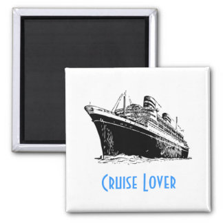 CRUISE LOVER magnet (square)