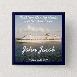 Cruise Name Badge - X Ship