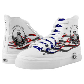Cruise Nights USA/Stars & Stripes Flames Hightops