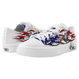 Cruise Nights USA Stars & Stripes Flames Sneakers