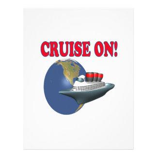 Cruise On 21.5 Cm X 28 Cm Flyer