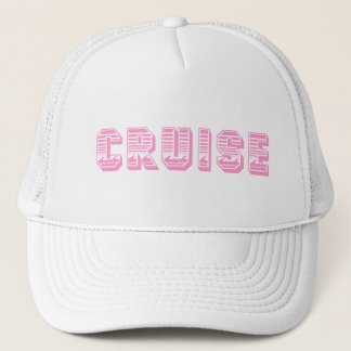 Cruise (pink) trucker hat