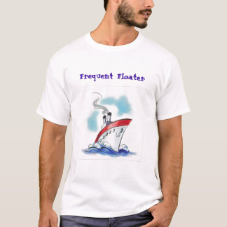 cruise ship1, Frequent Floater T-Shirt