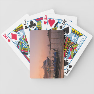 Cruise Ship and Gondolas near Grand Canal, Italy Bicycle Playing Cards