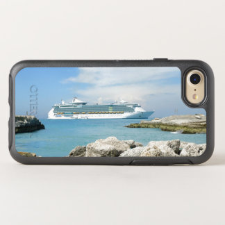 Cruise Ship at CocoCay OtterBox Symmetry iPhone 7 Case