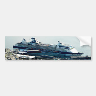 Cruise Ship Bumper Sticker