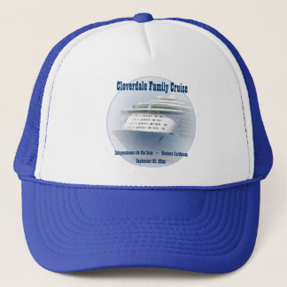 Cruise Ship Custom Trucker Hat