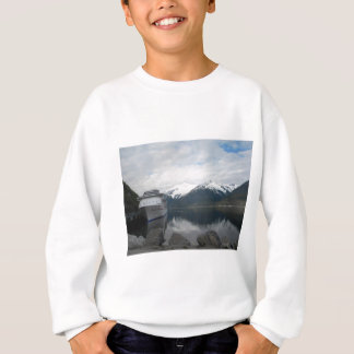 Cruise Ship Docked in Skagway, Alaska Sweatshirt