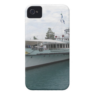 Cruise ship for leisure trip on Lake Thun Case-Mate iPhone 4 Cases