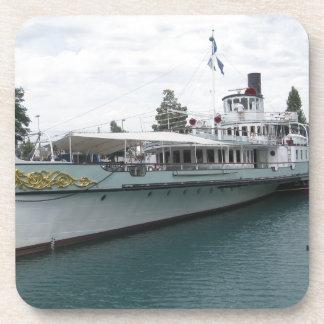 Cruise ship for leisure trip on Lake Thun Coaster