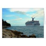~Cruise Ship~ GREETING CARD, CUSTOMIZE