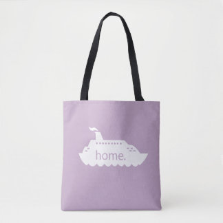 Cruise Ship Home - lavander Tote Bag