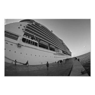 CRUISE SHIP HUGE PRINT ART PHOTO