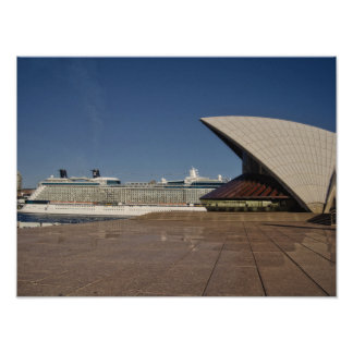 Cruise Ship In Sydney Photo Prints
