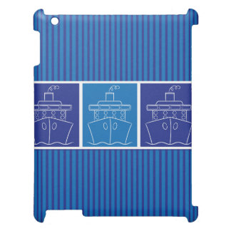 Cruise ship iPad case
