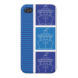 Cruise ship iPhone 4/4S cases