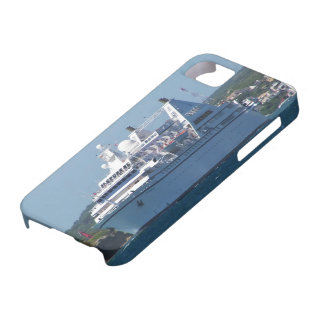 Cruise Ship Leaving Mahon iPhone 5 Cases