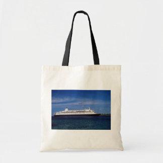 Cruise ship, Nassau, Bahamas Tote Bag