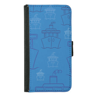Cruise ship samsung galaxy s5 wallet case
