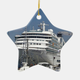 Cruise Ship Seabourn Odyssey Ceramic Star Decoration