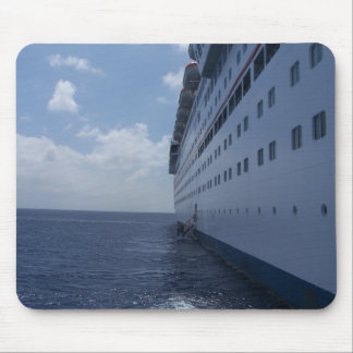 Cruise Ship View Mouse Mats