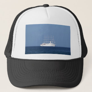 Cruise Ship With Sails Trucker Hat